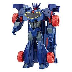 """Трансформеры Hasbro Transformers """"Роботы под прикрытием. Уан-Стэп"""", Сайундвейв"""
