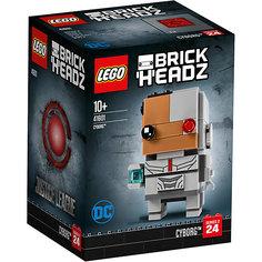 Сборная фигурка LEGO BrickHeadz 41601: Киборг