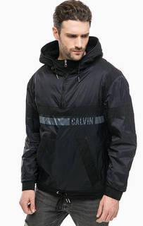 Куртка с карманом-кенгуру и капюшоном Calvin Klein Jeans
