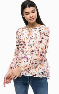 Блуза с цветочным принтом More & More