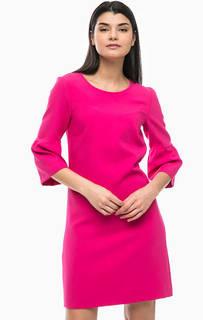 Платье цвета фуксии с расклешенными рукавами More & More