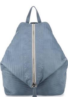 Кожаный рюкзак с одним отделом на молнии Io Pelle