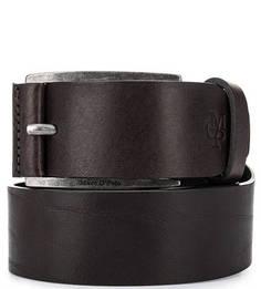 Кожаный ремень коричневого цвета Marc Opolo