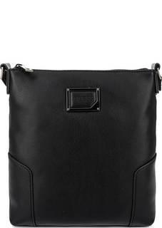 Маленькая черная сумка на молнии Guess