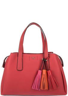 Красная сумка со съемным плечевым ремнем Guess