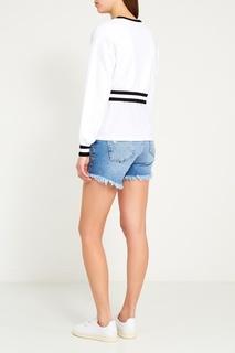 Джинсовые шорты-мини Zoe Karssen