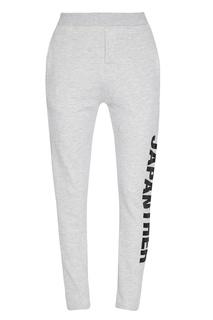 Серые меланжевые брюки Zoe Karssen