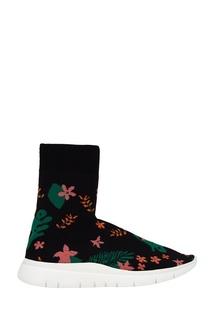 Текстильные кроссовки с цветами Joshua Sanders