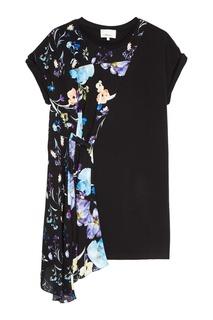 Комбинированное платье с цветами 3.1 Phillip Lim