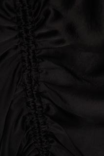 Черная блузка из хлопка T by Alexander Wang