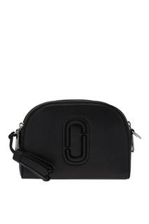 Черная кожаная сумка Shutter Camera Bag Marc Jacobs