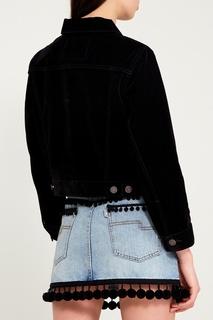 Черная вельветовая куртка Marc Jacobs
