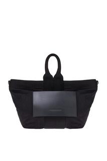 Текстильная сумка с карманом Alexander Wang