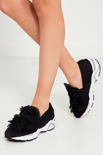 Текстильные кроссовки с цветами Suecomma Bonnie