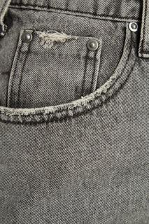 Серая джинсовая юбка One Teaspoon