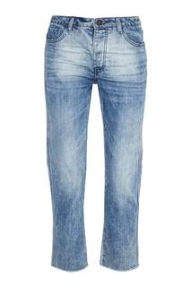 Голубые вареные джинсы One Teaspoon