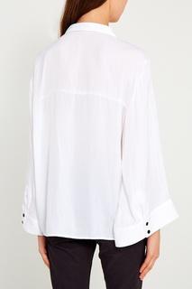 Белая блузка с карманами One Teaspoon