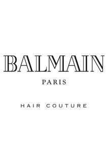 Белая косметичка со средствами для ухода Balmain Paris Hair Couture