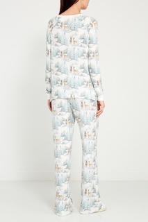 Пижамные брюки с оленями PJ Salvage