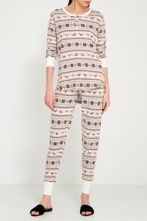 Пижамные брюки с орнаментом PJ Salvage