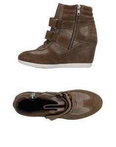 Высокие кеды и кроссовки Scee BY Twin Set