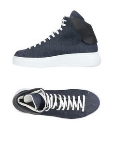 Высокие кеды и кроссовки Emporio Armani