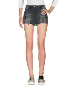 Джинсовые шорты Elisabetta Franchi Jeans