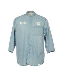 Джинсовая рубашка White Mountaineering