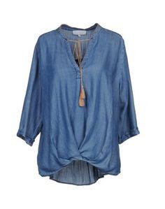 Джинсовая рубашка LA FEE Maraboutee