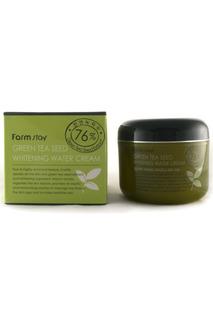 "Крем для лица ""Зеленый чай"" FARMSTAY"