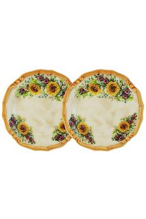 Набор из 2-х десертных тарелок LCS