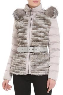 Полуприлегающая куртка с ремнем Acasta