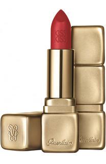 Матовая увлажняющая помада для губ, оттенок M331 Огненный красный Guerlain