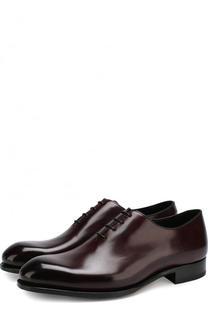 Классические кожаные оксфорды Brioni