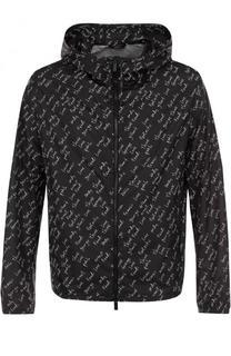 Куртка на молнии с капюшоном Fendi