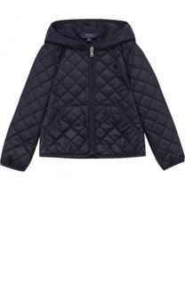 Стеганая куртка с капюшоном Polo Ralph Lauren