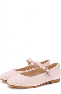 Туфли с глиттером на ремешке Il Gufo