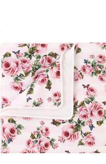 Хлопковое одеяло с принтом Dolce & Gabbana