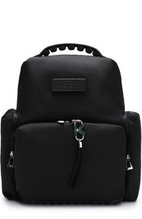 Текстильный рюкзак с внешними карманами на молнии Kenzo