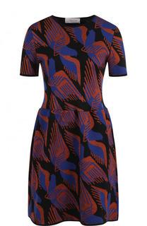 Вязаное мини-платье с коротким рукавом Tak.Ori