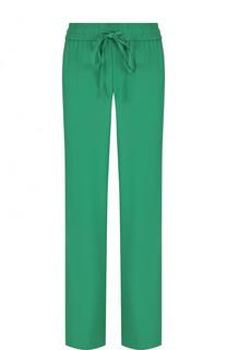 Однотонные брюки прямого кроя с эластичным поясом REDVALENTINO