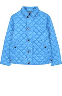 Стеганая куртка с отложным воротником Burberry