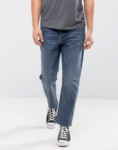 Синие джинсы в стиле 90-х Cheap Monday - Синий