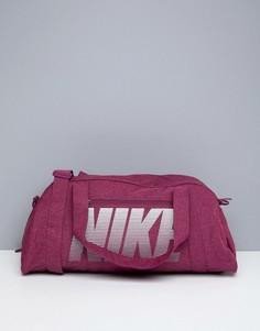 Розовая дорожная сумка Nike - Розовый