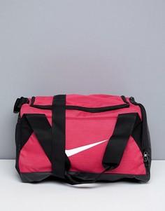Розовая спортивная сумка с галочкой Nike Sports - Красный