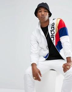 Белая спортивная куртка adidas Originals St Petersburg Tribe BQ2014 - Белый