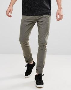Зауженные брюки Selected Homme - Зеленый