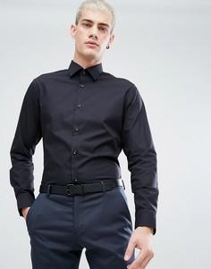 Непромокаемая рубашка классического кроя Selected Homme - Черный