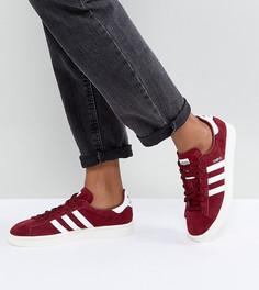 Бордовые кроссовки adidas Originals Campus - Красный