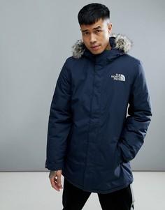 Темно-синяя куртка с отстегиваемой отделкой из искусственного меха The North Face Zaneck - Темно-синий